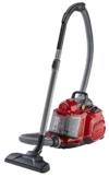 AEG Performer Cyclonic ASPC7120 Staubsauger ohne Beutel EEK A (800 Watt, inkl. Hartbodendüse, Softräder, waschbarer Hygiene E12 Filter) rot -