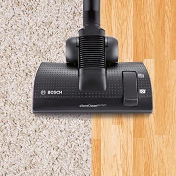 Bosch BGS5SIL66B Bodenstaubsauger Relaxx'x ProSilence66 EEK A (beutellos, SensorBagless Technology, 66 dB(A), Quattro Power System) schwarz -