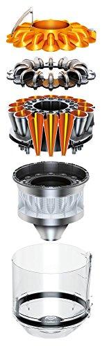 Dyson DC33c Origin Staubsauger EEK A (750 Watt, beutellos, umschaltbare Bodendüse mit Saugkraftregulierung) metallic -