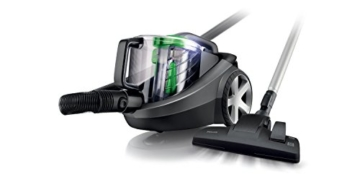 Philips PowerPro FC8769/01 Staubsauger EEK D (1250W, beutellos, EPA12 Filter) schwarz -